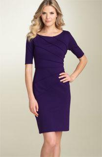 Maggy London Starburst Ponte Knit Dress (Petite)