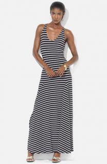Lauren Ralph Lauren Stripe Maxi Dress (Petite)