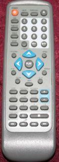 Daewoo Emerson DVD Player Remote Control