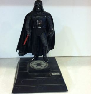 1996 Collectors Star Wars Darth Vader Electronic Bank With Sounds And