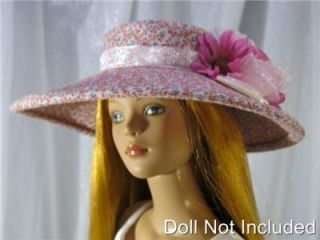 Dagmar a Doll Hat fits the Diana Doll, Tonner Tyler and Gene Marshall