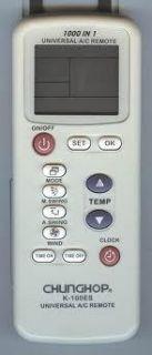 LG Samsung Fujitsu Daikin Air Conditioner Universal Remote Controler