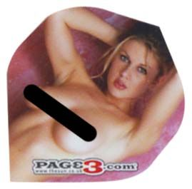you find nudity offensive do not purchase these dart flights