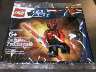 Lego Star Wars Minifig SEALED Darth Maul Exclusive Promo Set