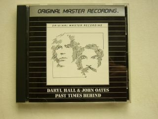 Daryl Hall John Oates Past Times Behind MFSL CD RARE Mobile Fidelity