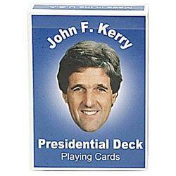 John Kerry Presidential PARODY Playing Cards Croniesnew