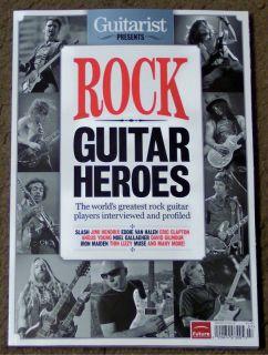 UK Guitarist Presents Rock Guitar Heroes 258 Pages 2012 Iron Maiden