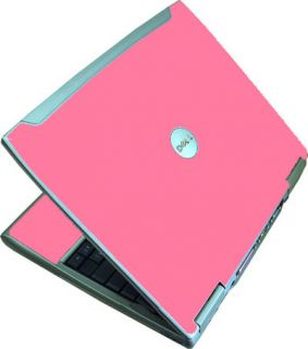 Hot Pink Dell Latitude D610 Laptop Vinyl Skin Cover 14