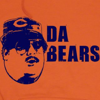 Da Bears Hoodie Hooded sweat Shirt Funny Football T Ditka Chicago