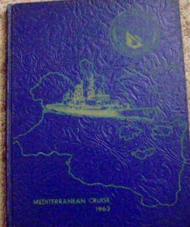 USN Navy USS Dahlgren Destroyer War SHIP Cruise Book US