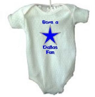 Dallas Cowboys Fan Clothing Toddler Infant Onesie