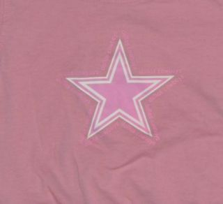 Baby Girls Sz 18M Months NFL Dallas Cowboys Shirt Pink