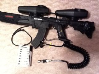 TIPPMANN CUSTOM 98 w response trg ak47 barrel mag stock kit cyclone