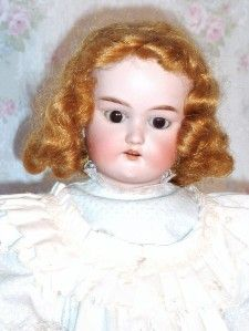 Antique Cuno Otto Dressel Bisque Head Doll H 19