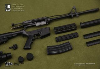 Hot 1/6 DAM Toys TOS Navy Seal Pointman M4 Carbine Rifle w/ sling
