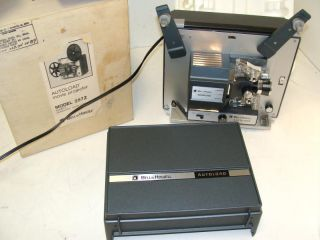 Bell Howell 357 Z 357Z Super 8 mm 8mm Film Autoload Movie Projector