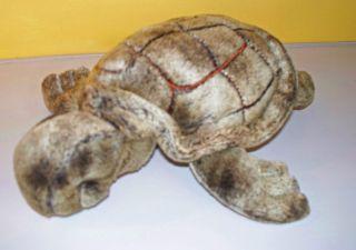 Dan Dee Olive Green Sea Turtle Plush Stuffed Animal