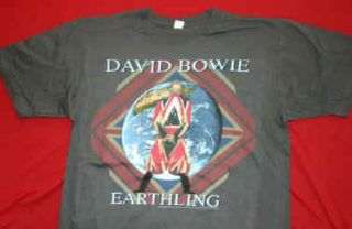 Brand new licensed David Bowie   Earthling t shirt in size small (34