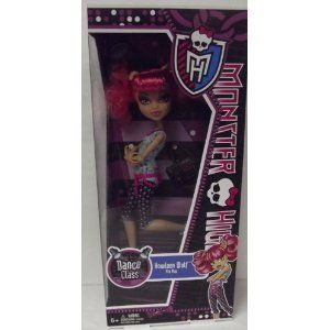VHTF NIB Monster High Dance Class Howleen Wolf Hot TOY2012