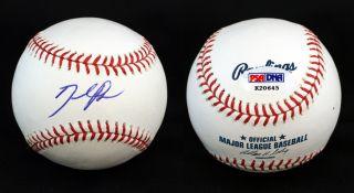 David Price Signed ROMLB Baseball Tampa Bay Rays PSA DNA Autographed