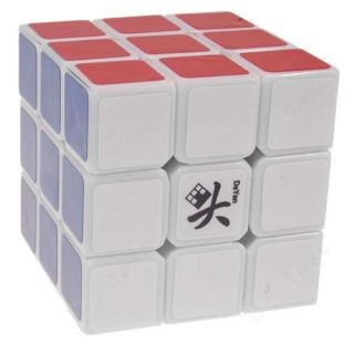 Dayan Guhong 3x3 3x3x3 Speedcube Magic Puzzle Cube White Extra