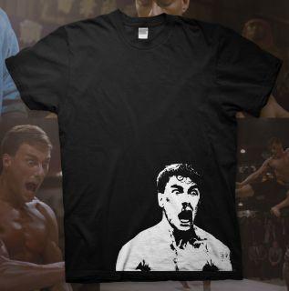 Jean Claude Van Damme High Quality Cotton T Shirt Bloodsport Badass