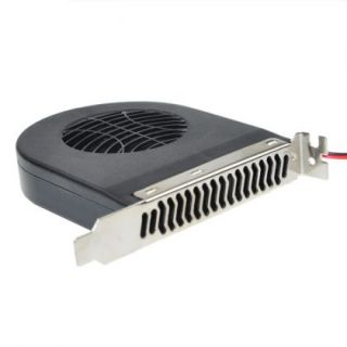 Blower CPU Case PCI Slot DC Brushless Fan Cooler For PC 12V 0.23A 4Pin