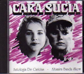 Cara Sucia elenovela CD Exios Guillermo Davila Kiara