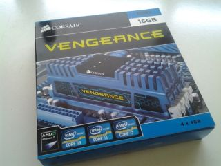 Vengeance Blue 16 GB DDR3 4x4GB SDRAM Dual Channel Memory Kit