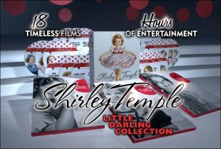 Shirley Temple 18 DVDs Box Set Little Darling Collection As Seen On TV