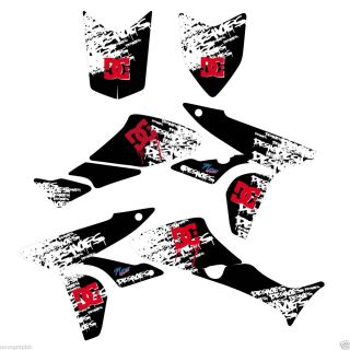 DC SHOES GRAPHIC KIT HONDA TRX450 450R trx 450 R DECAL STICKER ATV