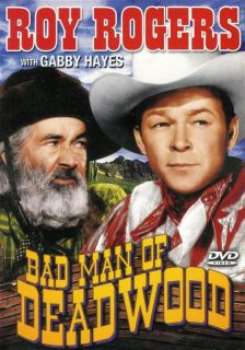 Bad Man of Deadwood Roy Rogers New SEALED DVD 089218414793