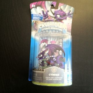 Skylanders Cynder Character Pack PS3 Wii Xbox 3DS Cinder Video Game