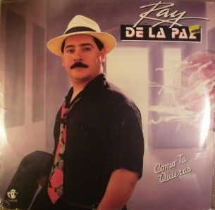 ray de la paz como tu quieras 1990 rare lp sealed