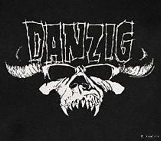 Danzig Tribal Logo Samhain Metal Punk Rock T Shirt 2XL 3XL NWT