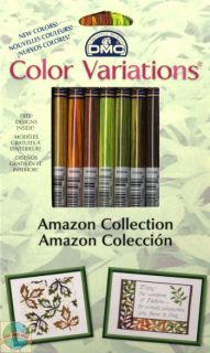 DMC Color Variations Embroidery Floss    COLLECTION   8 Skiens