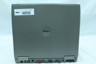 Dell Latitude D610 Laptop Computer 1 73GHz 40GB 2GB RAM DVD CDRW XP Wi