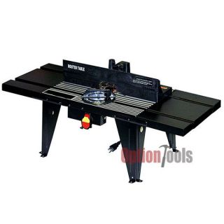 Deluxe Heavy Duty Aluminum Router Table Work Bench Top Routers Tables