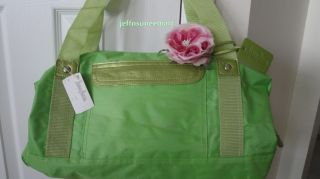 Large Tote Duffle Bag Handbag Hot Green