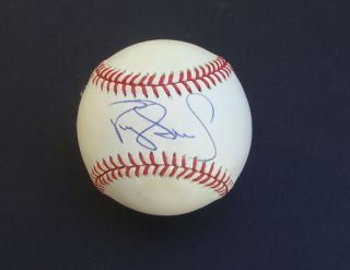 Darryl Strawberry Auto Signed Baseball New York Mets