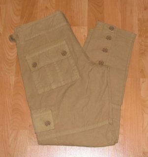 NWT FOSSIL BRAND CARGO PANTS WOMENS SIZE 31/12 R   NEW