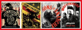 SONS OF ANARCHY THE COMPLETE SERIES SEASONS 1 4 BRAND NEW FACTORY