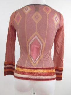 Jane Doe Collection Embellished Longsleeved Shirt Sz S