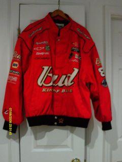 Signed Dale Earnhardt Jr NASCAR Cotton Twill Jacket 2XL