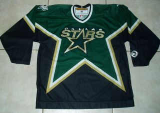 Dallas Stars Official Licensed Sewn Jersey XL NHL Hockey Koho Signed