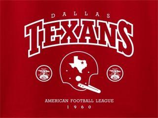 Dallas Texans Helmet 1960 Hoody Cowboys AFL