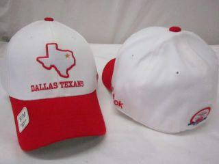 product dallas texans reebok flex fit hat cap s m