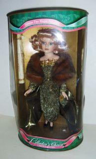 Dan Dee Collectors Choice Porcelain Doll 17 Tall