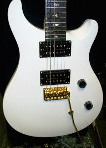 Paul Reed Smith PRS SE Dave Navarro Jet White Guitar 2012 New Janes