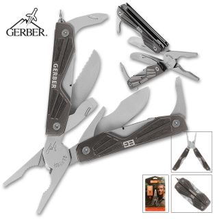 Superior New Gerber Bear Grylls Compact Survival Multi Tool AUTHENTIC
